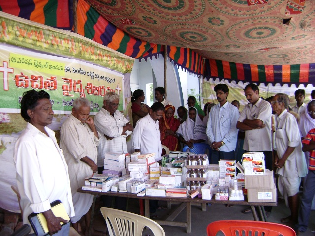 01 Free medical camps in the villages